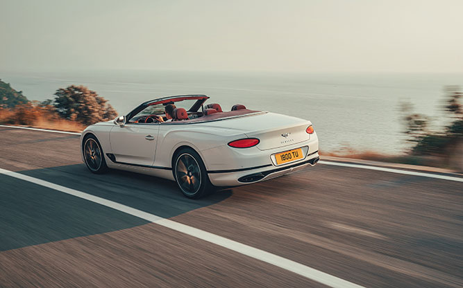 Bentley Continental GT Convertible: lanzamiento oficial