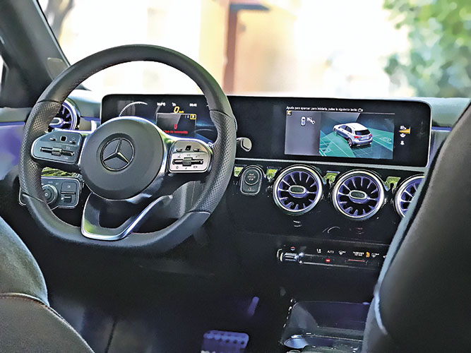 Mercedes-Benz Clase A Interiores