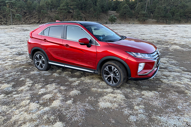Mitsubishi Eclipse Cross, Test Drive
